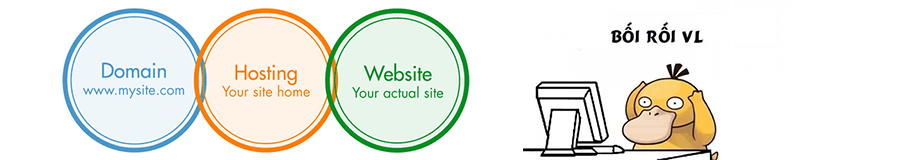 website là gì? domain là gì? hosting là gì?