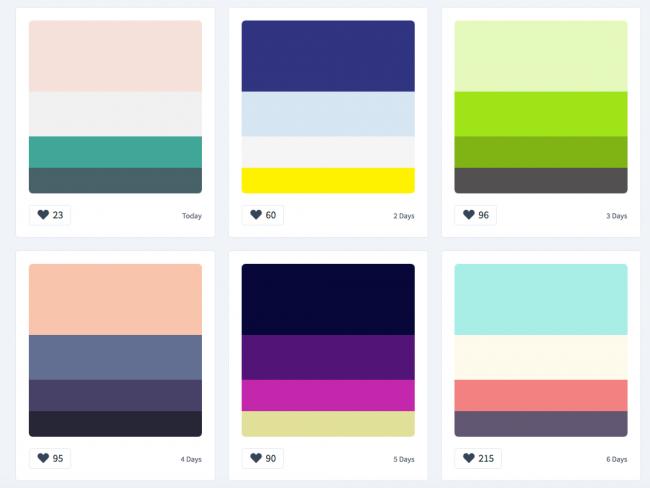 Bố cục trang web: màu sắc