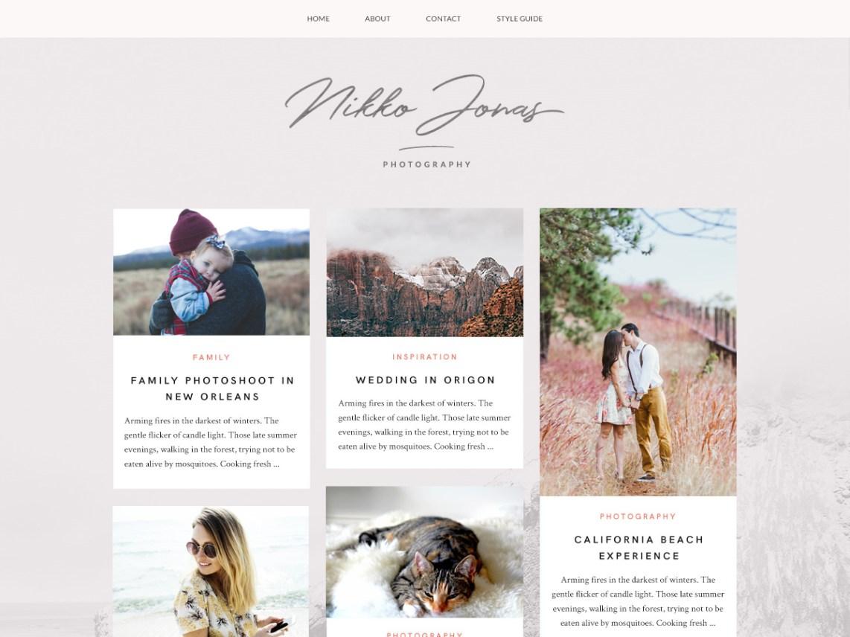 Nikko Portfolio Theme Miễn phí Tải về