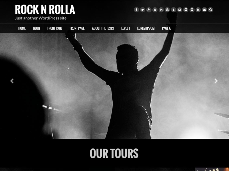 Rock N Rolla Theme Miễn phí Tải về