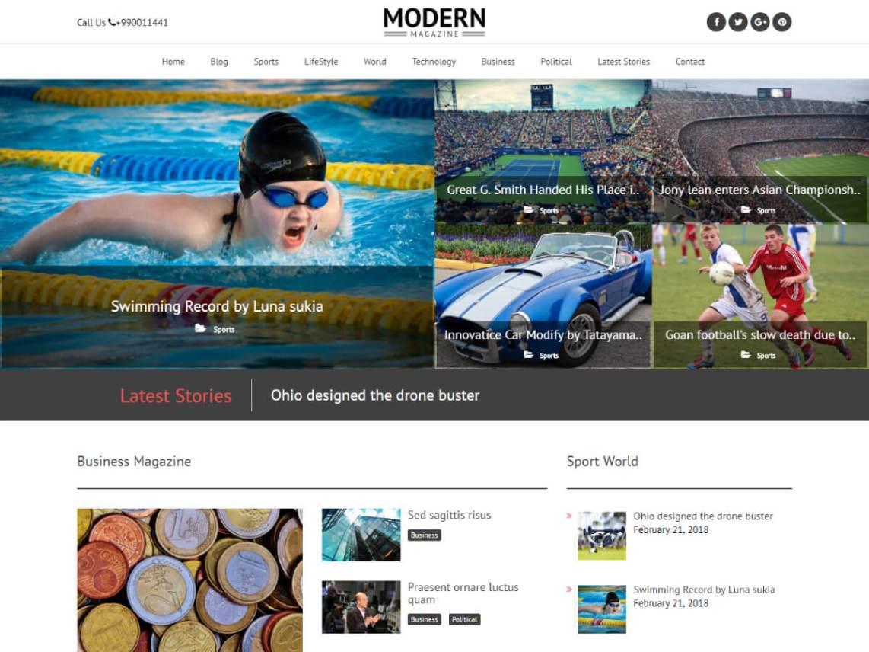 Tin tức - blog hiện đại
