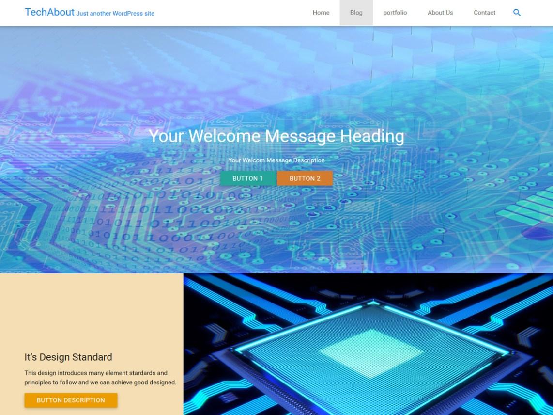 TechAbout Theme Tải xuống miễn phí