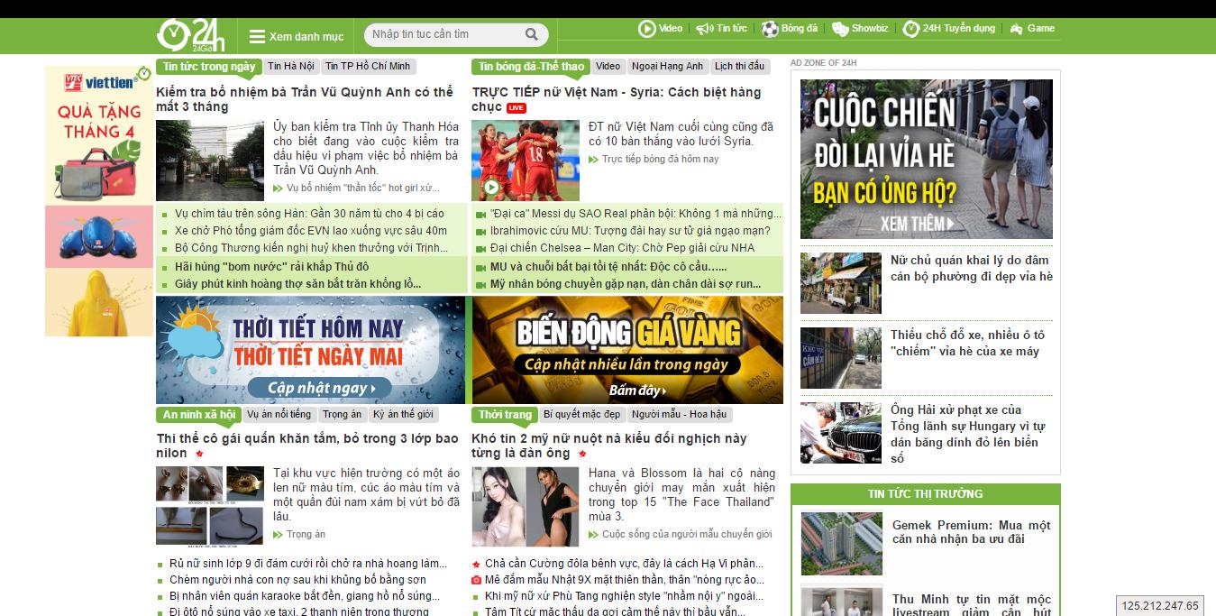 website thông tin, tin tức, báo mạng, bóng đá