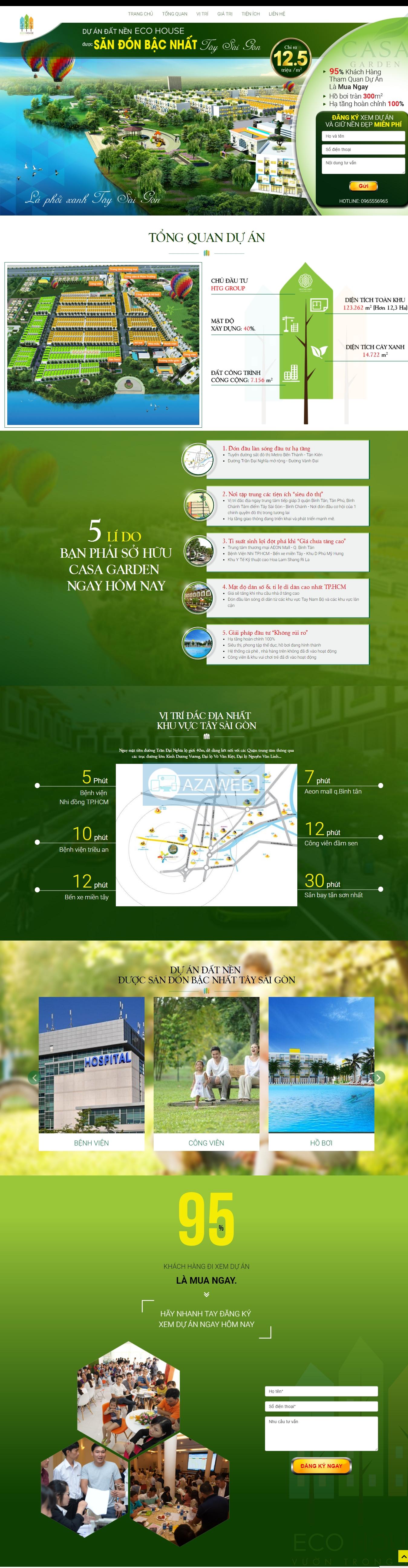 Dự án đất nền Eco House