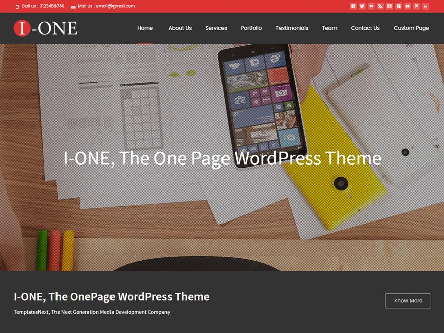 i-one Theme Miễn phí Tải về