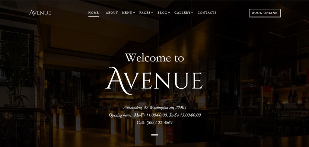 Nhà hàng đại diện Mẫu trang web HTML đa nhiệm đáp ứng