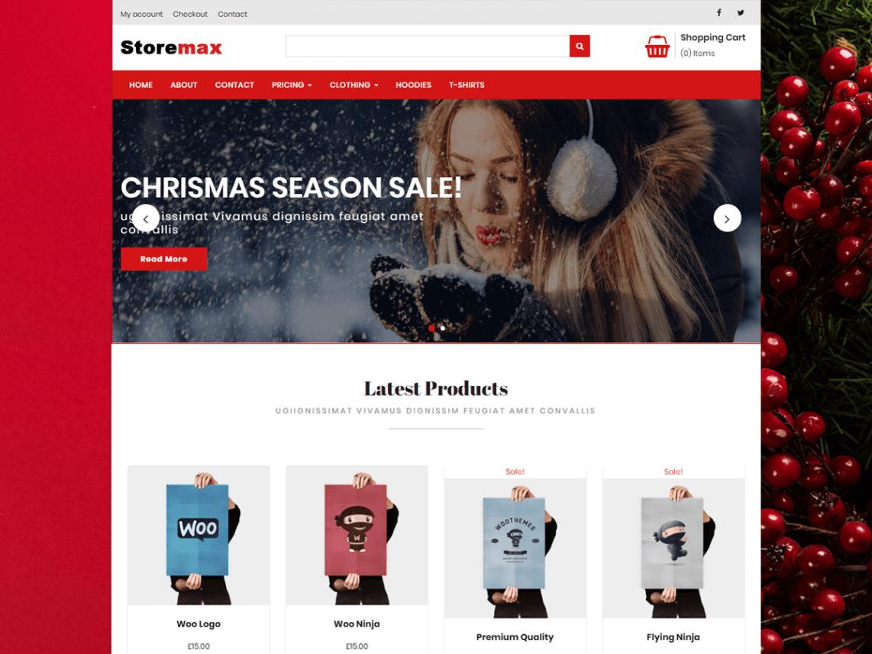 Storemax Theme Miễn phí Tải về