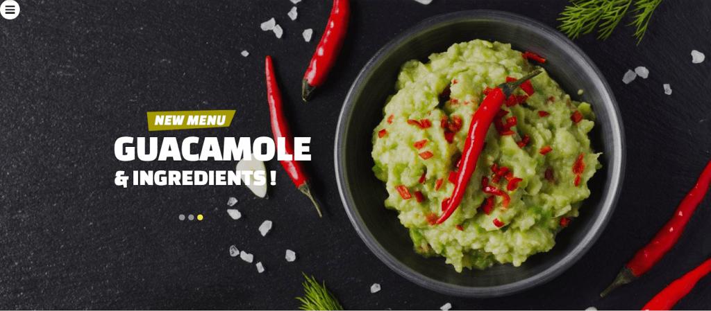 Thức ăn chay - Nhà hàng chay Mẫu trang web đáp ứng