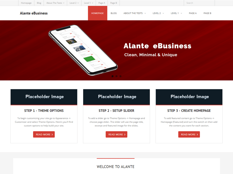 Alante eBusiness Theme Miễn phí Tải về