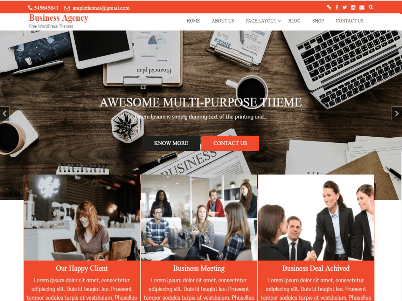 Business Agency Theme Miễn phí Tải về