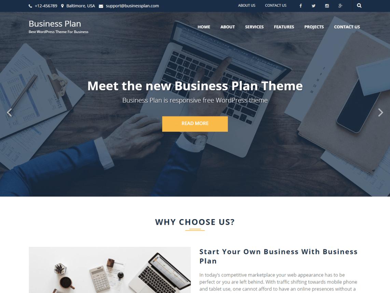 Business Plan Theme Miễn phí Tải về