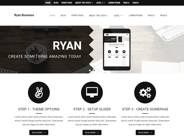 Ryan Business Theme Miễn phí Tải về