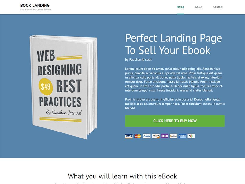 Book Landing Page-phút