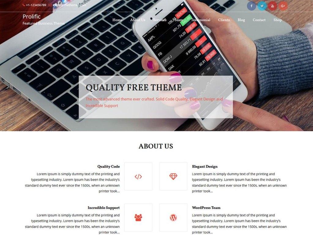 30 Giao diện website Landing Page – Sale Page tốt nhất và miễn phí cho wordpress 2018
