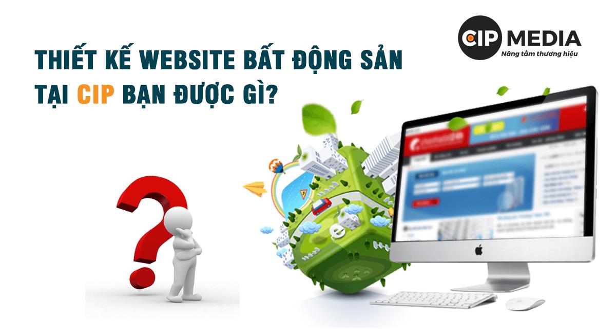 thiết kế web bđs