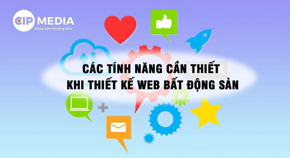 thiết kế website bđs